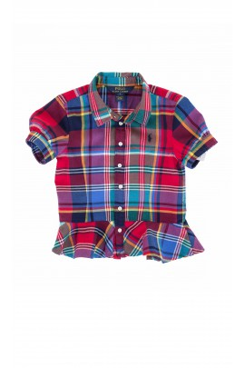 Shirt in colourful checker, Polo Ralph Lauren