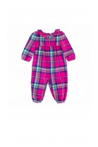 Rompers in pink checker, Ralph Lauren