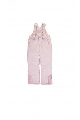 Pink ski trousers with braces, Tartine et Chocolat
