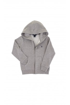 Grey hooded sweatshirt, Polo Ralph Lauren