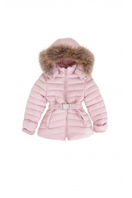 Down jacket, powder pink, Tartine et Chocolat