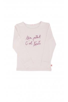 Dziewczęca, bawełniana bluzka , Billieblush