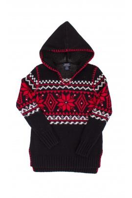 Black girls tunic with Christmas patterns, Ralph Lauren