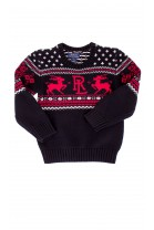 Black boys Christmas sweater, Polo Ralph Lauren