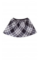 Black-and-white checker skirt, Polo Ralph Lauren
