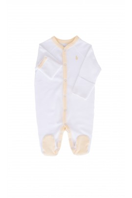 White rompers, Ralph Lauren