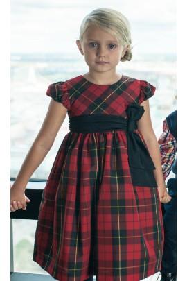 Red dress, Ralph Lauren
