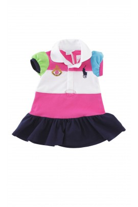 3-colour baby dress, Ralph Lauren