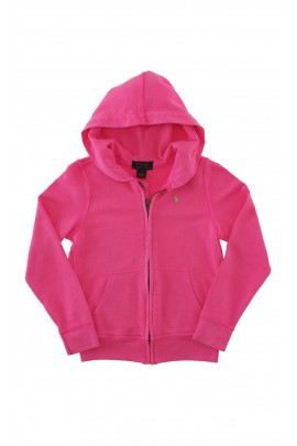 Pink hooded sweatshirt, Polo Ralph