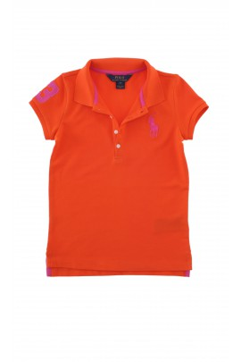 Orange summer polo shirt, Polo Ralph Lauren