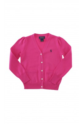 Pink girls cardigan, Polo Ralph Lauren