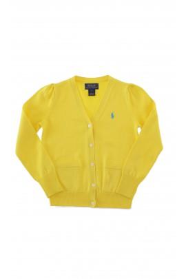 Yellow girls cardigan, Polo Ralph Lauren