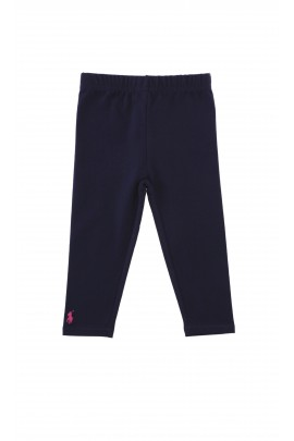 Navy blue girls leggings, Ralph Lauren