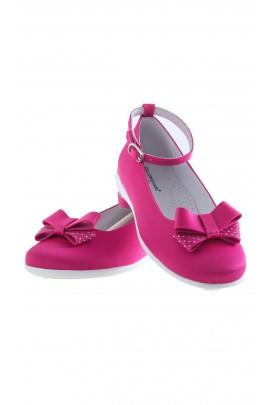 Pink satin slip-ons, Colorichiari