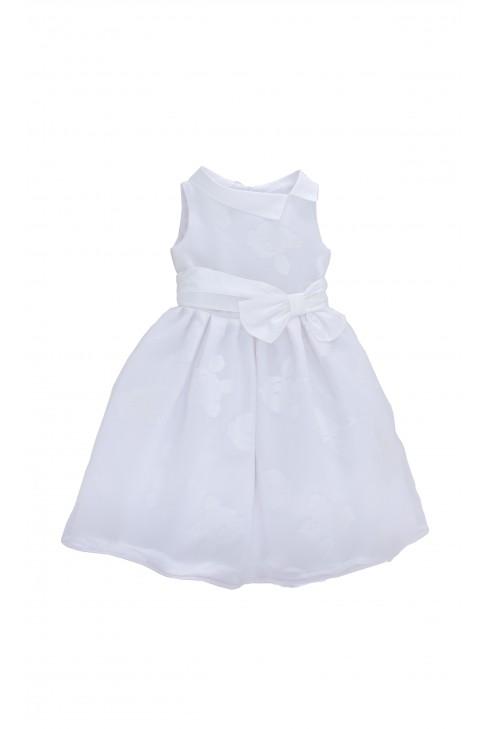 White dress in big white flowers, Colorichiari