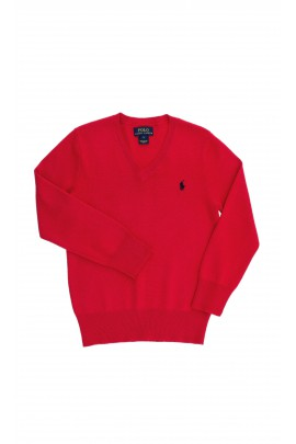 Red boys sweater, Polo Ralph Lauren