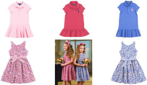 Girls dresses Polo Ralph Lauren for every occasion